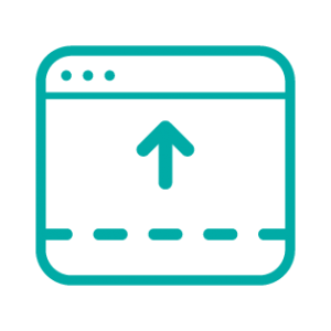 footer panels icon